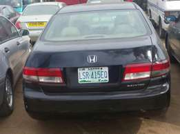Clean used 2003 honda accord
