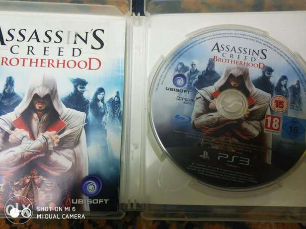 Assassin's Creed brotherhood for ps3