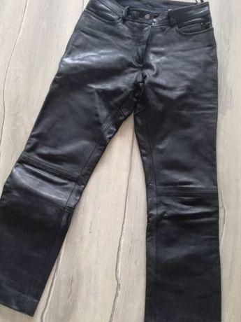 da285fc67d769 spodnie skórzane motocyklowe damskie roz.38 Tczew - image 1