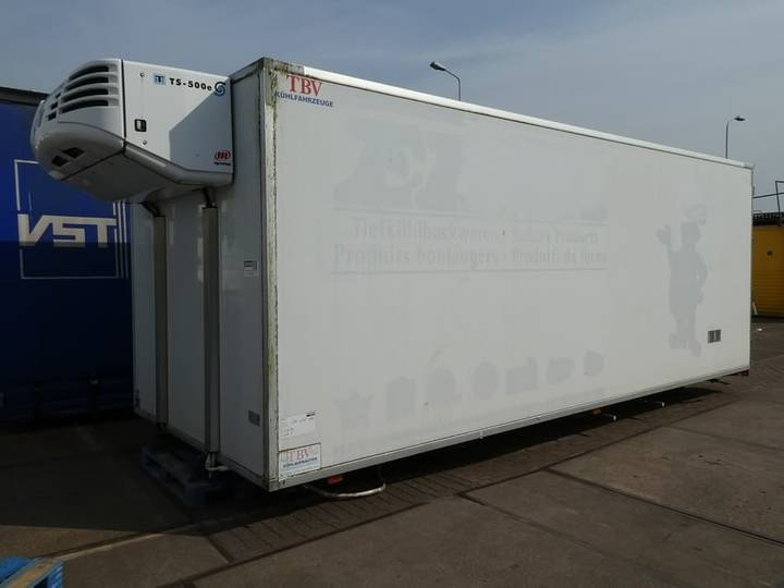 TBV EUROTRAILER  TKROL SIDE + BACKDOO thermoking ts500d - 2009
