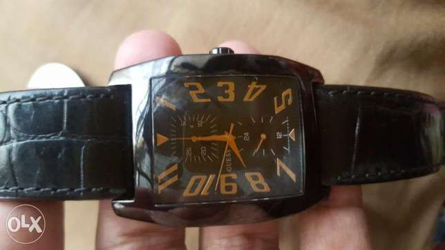 guess watch japan movt just like new