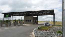 Sasolburg Eco-Industrial Park stands for sale