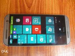 Very clean HTC One M8 Windows Phone 2gig ram and 32gig internal memory