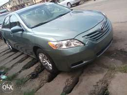 Toyota Camry 2009 model four cylinder engine fabric seats steering vol