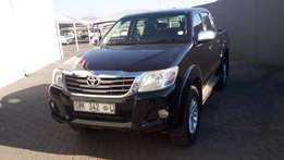 2.7 VVTi Hilux Double cab only R229 000*