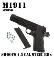 M1911 BB 4.5 CAL SHOOTS authentic STEEL BBs R995.00
