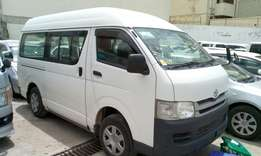 Automatic diesel Toyota Hiace 4wd