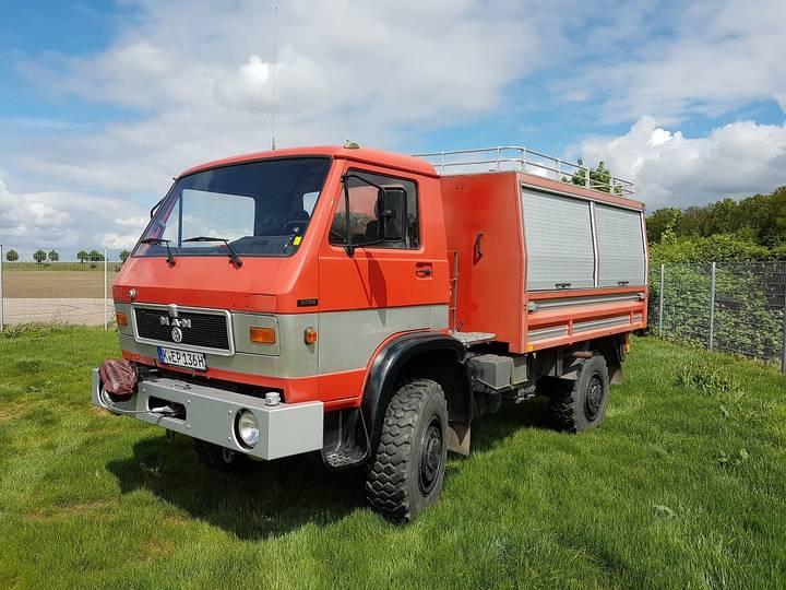 MAN VW G90 8.136 FAE 4x4 - 6-Gang - H-Zulassung - 1987