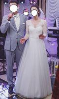 98d22ea6b7 Zjawiskowa biała suknia ślubna Margarett Honorata