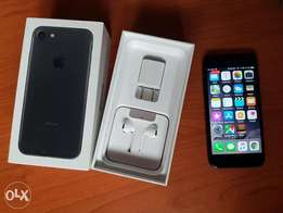 Black 256g iPhone 7 with Beats Studio wireless for sale