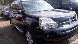 Black with leather interior Nissan Extrail