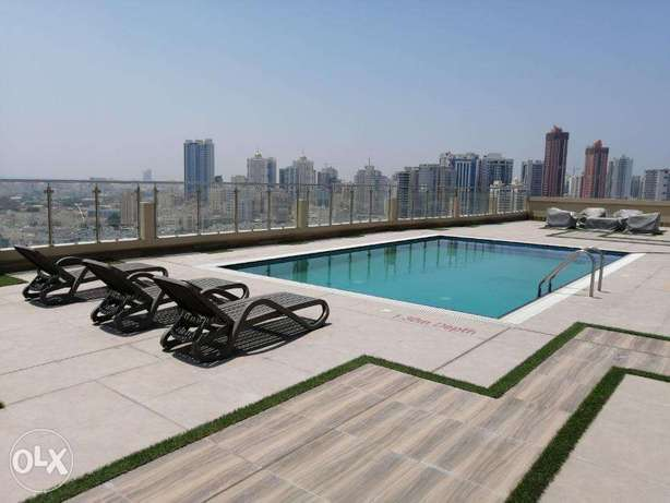 Modern Style 1 BR FF Apartment in Juffair For Rent جفير -  2