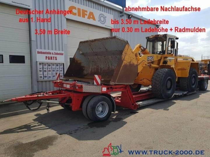 Fliegl ZTS200 Tieflader Land + Baumaschinen 30cm Höhe - 2005