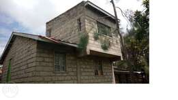 1/8 Acer in Ongata Rongai for Sale 5,300,000, with house, negotiable.