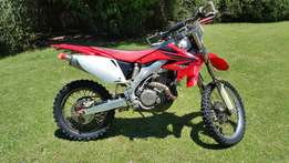 2007 Honda CRF 450 x for sale for R 30,500 neg