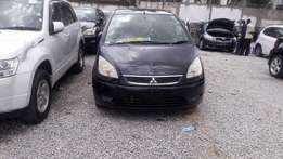 Mitsubishi colt plus black