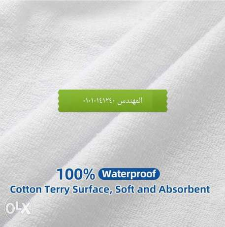 Water proof mattress cover cover espan material only white
