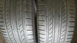 225/45/18Tyres runflat continental