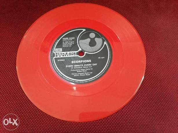 Scorpions - Passion Rules The Game - Vinyl - Limited Edition - Red