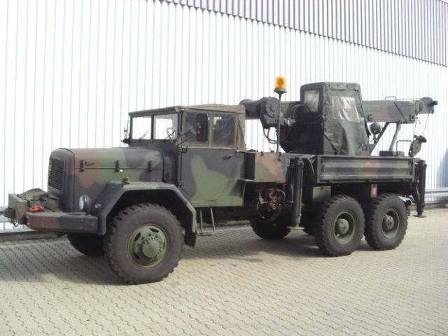 Magirus andere  175d15a6x6 doppelsitzbank - 1963