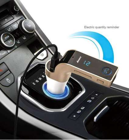 Universal Car Charger with TF / USB flash drives, Music Player FM & ca Upper Parklands - image 2