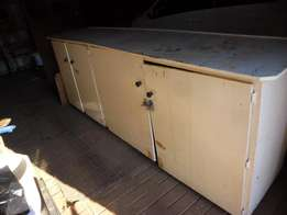 Work Bench and Cupboards For Sale