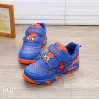 2018 spiderman sneakers for kids sizes 28-36