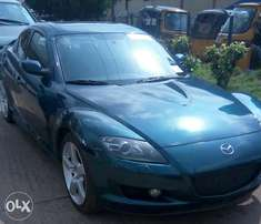 Mazda Rx8 sport toks 2010 model, no single scratch on it.