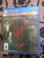 Metal Gear Solid V. Phantom pain for ps4