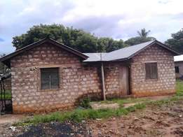 -House for sale -Built on 50×35 plot at vipingo shopping centre -With