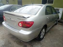 2004 model Toyota corolla clean tokunbo
