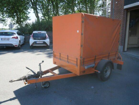 er P.O.  light trailer for sale by auction - 2019