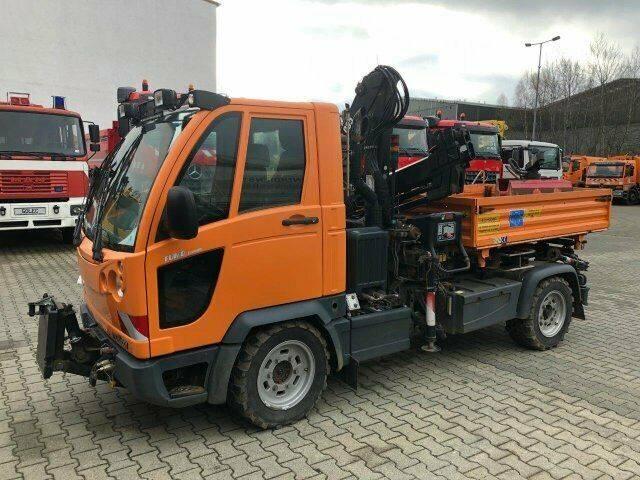 Multicar FUMO M30 4x4 Kipper Kran Greifer Winterdienst - 2007