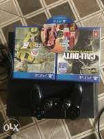 PLAYSTATION 4 + 3games + 1controller