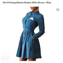 Botton shirt dress