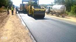 tarring and paving