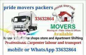 All over Bahrain movers packers in Bahrain House Villa Office shifting