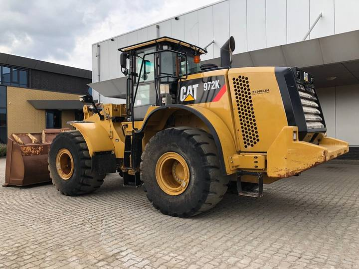 Caterpillar 972K Wheel Loader - 2013