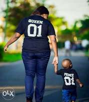 Mommy-son/daughter t-shirts
