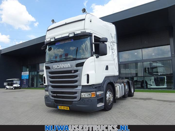 Scania R 440 Retarder + Liftas - 2011