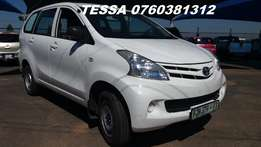 2013 Toyota Avanza 1.3 SX Panel Van Extremely hard to find Great