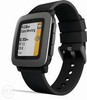 Pebble time smartwatch - Black for Android and IOS