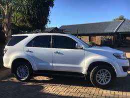 White 2011 Fortuner for sale