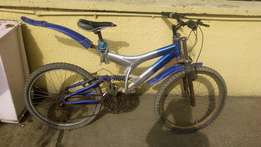 Bicycle for sale with shock absorber front and back