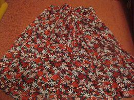 c13afdda47e Юбка цветная летняя фирменная 18 50 XL клеш пояс красивая новая сток ...