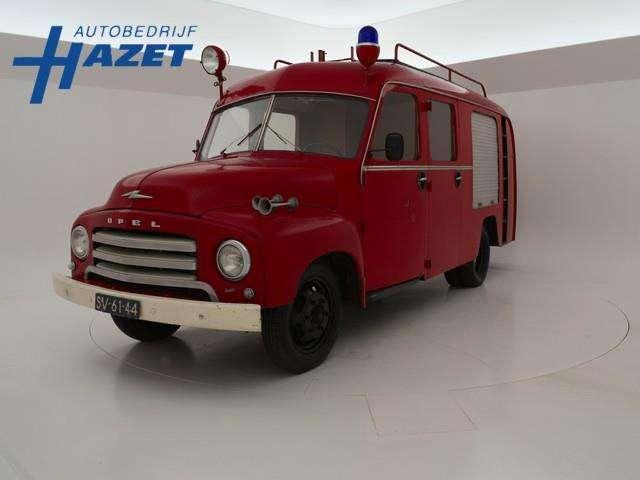 Ekstra Opel Blitz BRANDWEER IN ORIGINELE STAAT - 1961 til salg | Tradus GE-69
