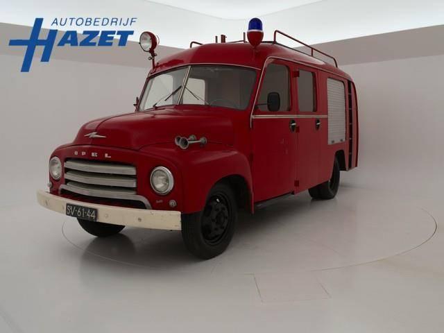 Opel Blitz BRANDWEER IN ORIGINELE STAAT - 1961