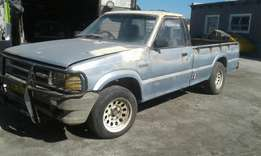 Ford courier 1800 lwb bakkie running condition