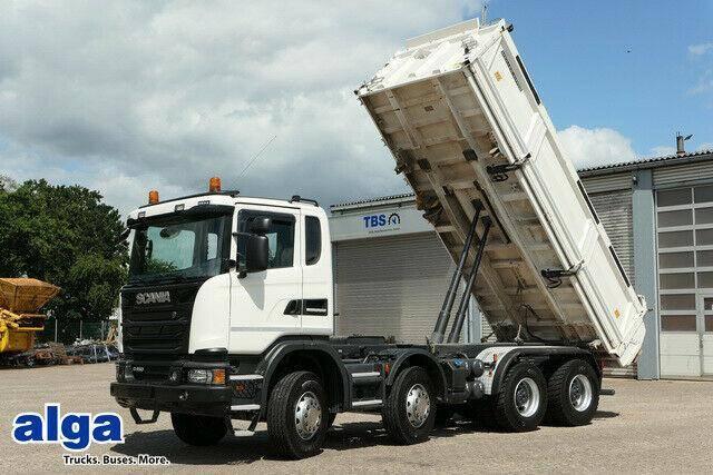Scania G 450 CB, 8x4, nur 95 Tkm., Bordmatik, Retarder! - 2016