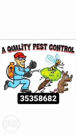 Past control cleaning
